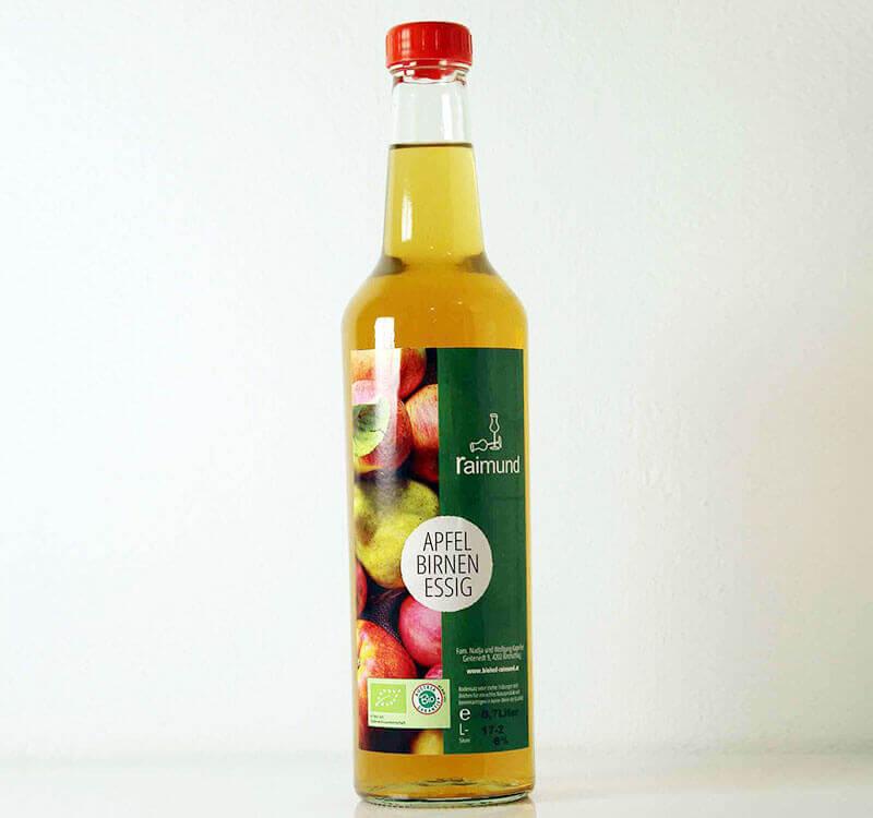 Apfel-Birnenessig Biohof Raimund