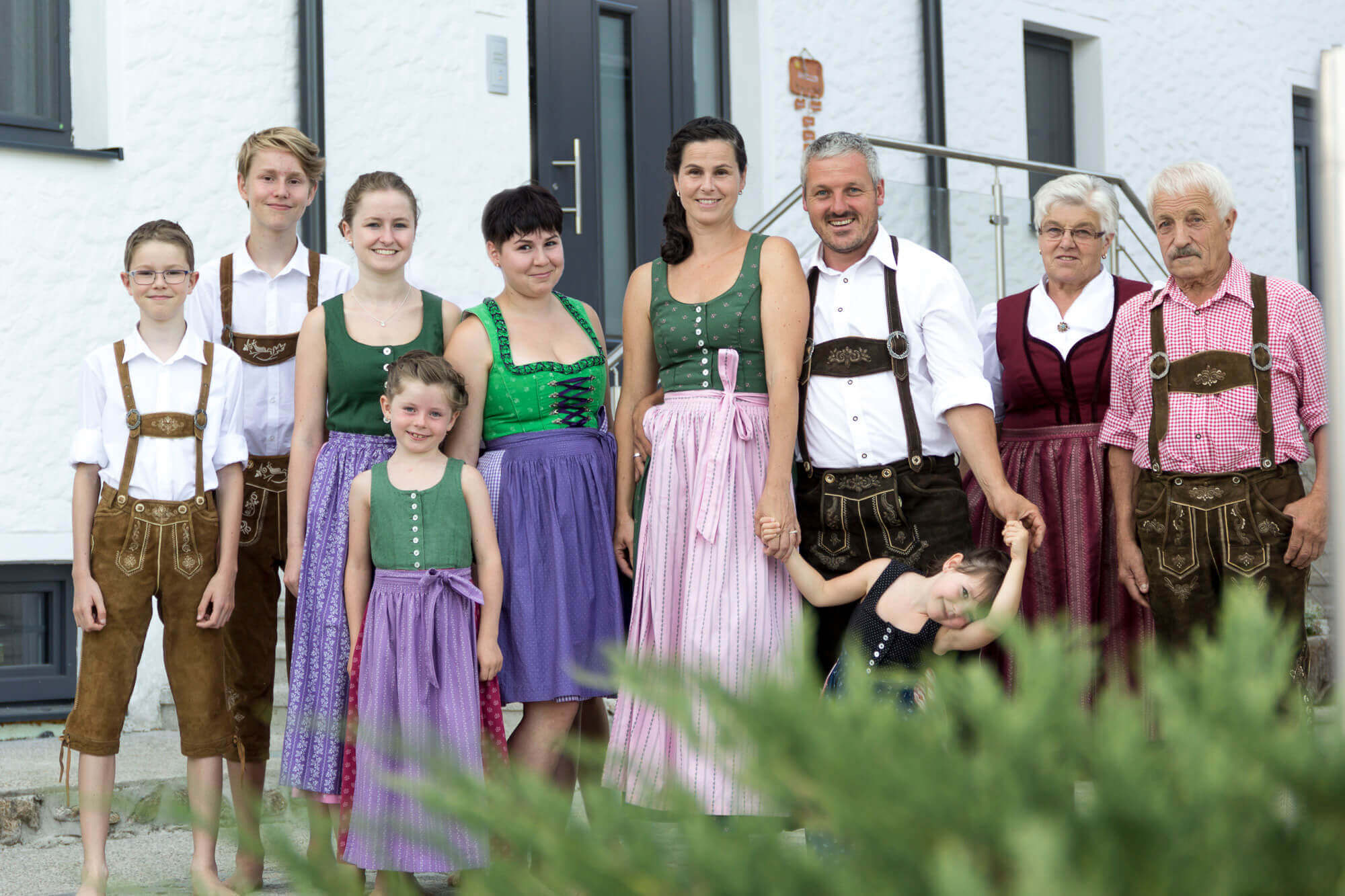 Familie Kapeller Biohof Raimund Kirchschlag